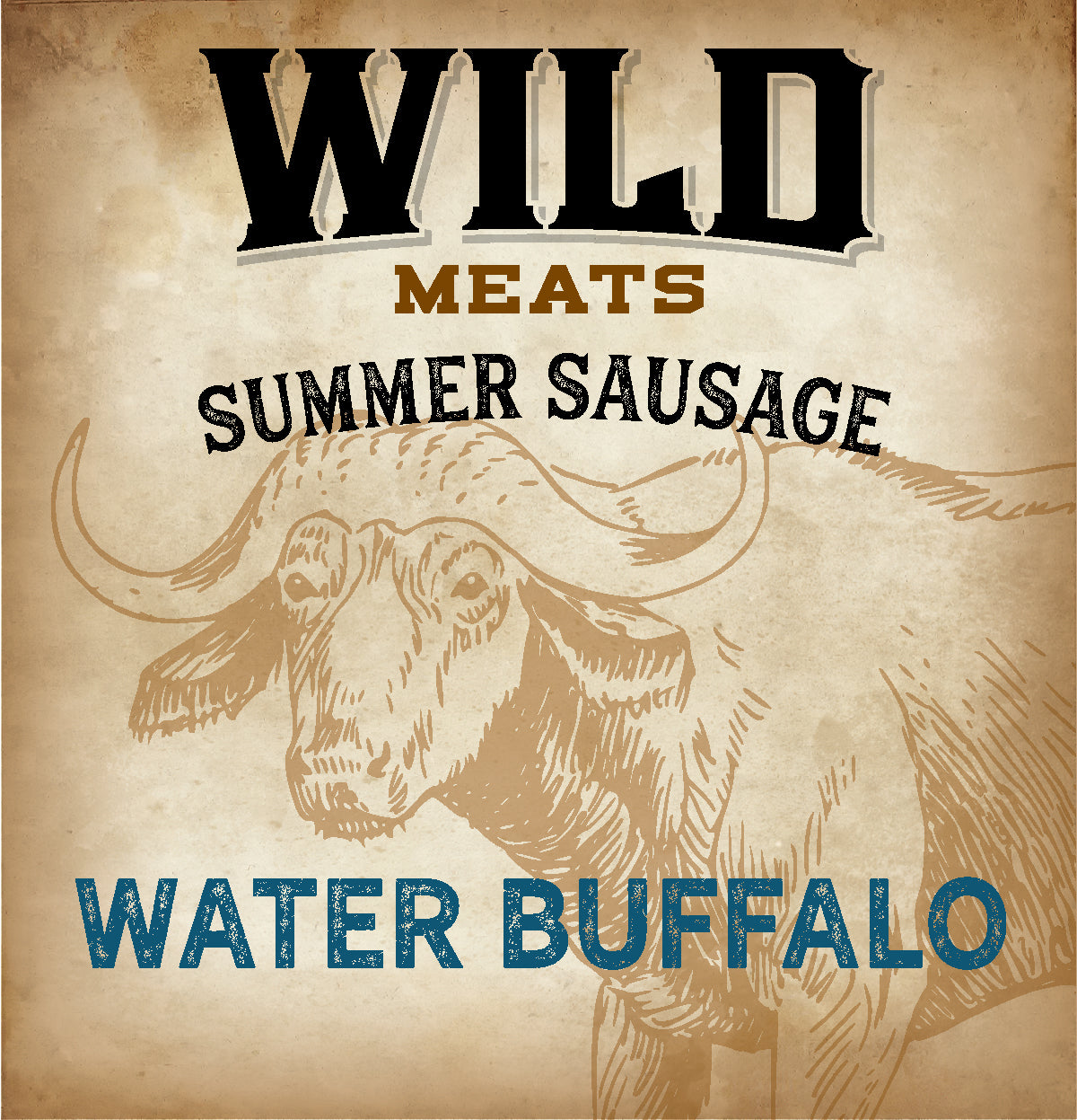Summer Sausage - Water Buffalo