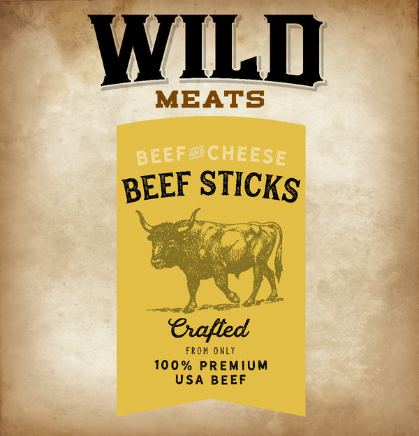 Beef Sticks - Beef & Cheese