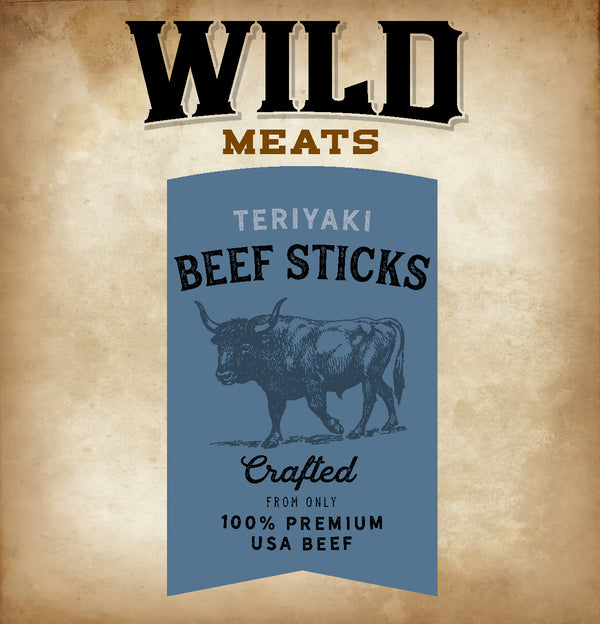 Beef Sticks - Teriyaki