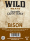 Exotic Jerky - Bison