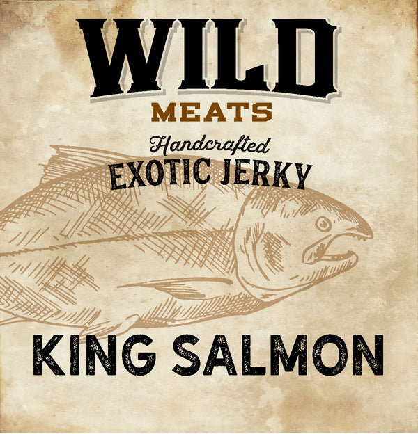 Exotic Jerky - King Salmon