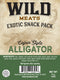 Exotic Snack Pack - Alligator