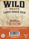 Exotic Snack Pack - Bison