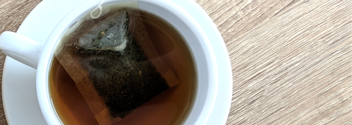low cost tea leaves are often packaged into tea bags because they are already crushed or broken