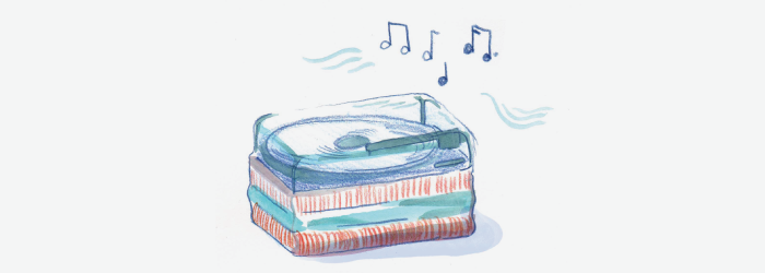 play some soft music to create a soothing ambiance