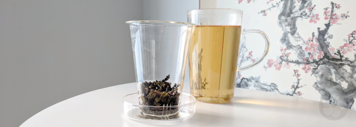 Glass infuser mugs are flavor neutral and perfect for everyday brewing