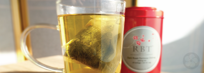 Light roast oolong tea bags are an easy introduction to pure teas