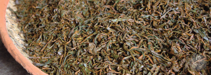 Summer harvest leaves are often used in mass produced tea bags or flavored blends.
