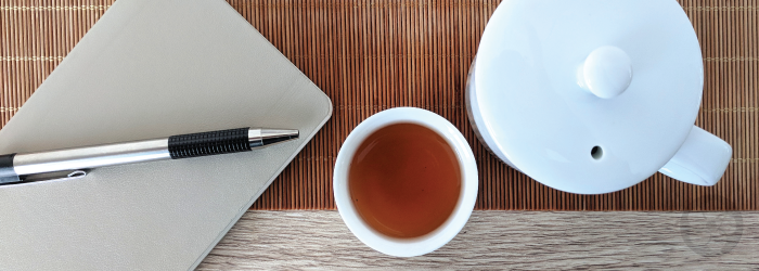 Practice describing flavors and aromas in new teas, and take notes to keep the information fresh.