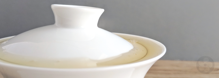 pure white porcelain makes beautiful and extremely practical teaware.