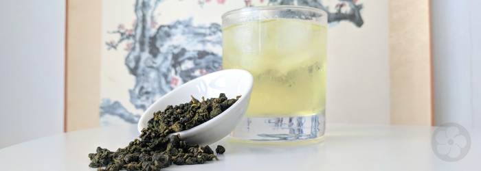 High mountain Formosa oolong teas like this jin xuan variety make wonderful iced tea