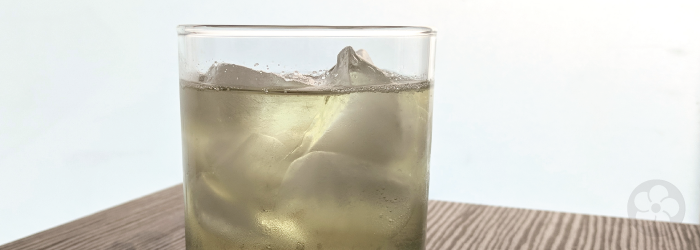 White tea brews beautifully in cold water for an iced tea that is naturally sweet and fruity