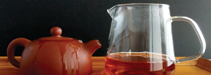 small teapots allow for full flavor that lasts through multiple infusions
