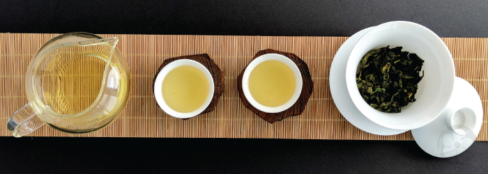 Practice focusing on the aftertaste of your tea to learn more about its quality