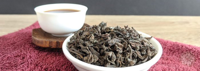Shou pu-erhs are often sold in loose leaf form since fermentation happens before pressing.