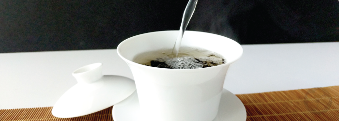Very hot water can easily overcook tea leaves; lower temperatures are best for most teas