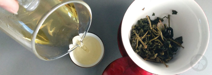Lightly oxidized oolongs are tightly rolled to reduce surface area and keep fresh longer.