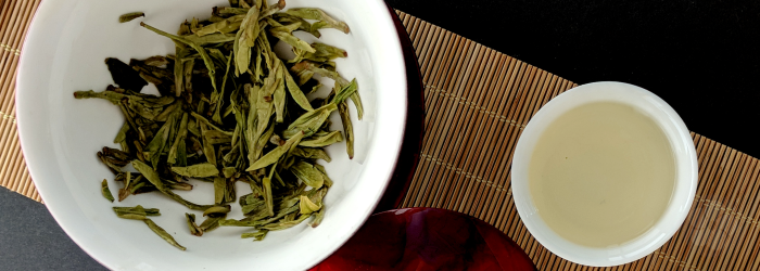 spring harvested green teas display natural creaminess because of high carbohydrate content in the leaf
