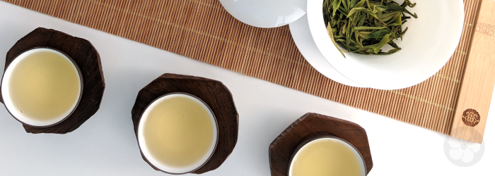 gong fu cha is designed to serve a group with small tasting cups and multiple infusions