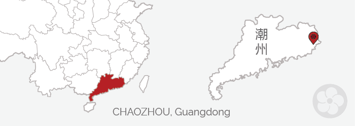 phoenix oolongs are grown in guangdong, China