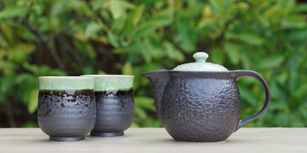 Kyusu Tea Set with 2 Cups