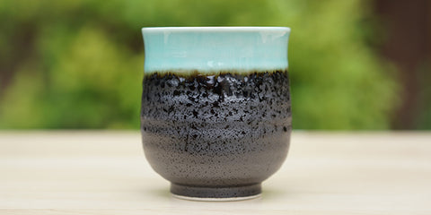 Turquoise Sky Yunomi Tea Cup