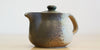 Diagonal side view: Banko Mingei Teapot
