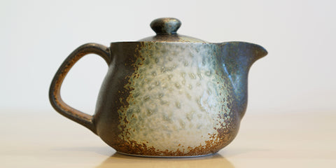 Side view: Banko Mingei Teapot