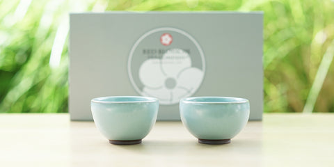 Jun Kiln Tasting Cup Pair