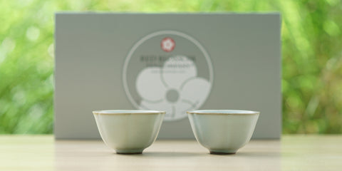 Ru Kiln Lotus Cup Pair (Small)