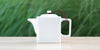 White Square Teapot