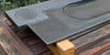 Corner view: Modern Ebony Tea Tray