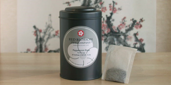 Peppermint Rose Tea Bags