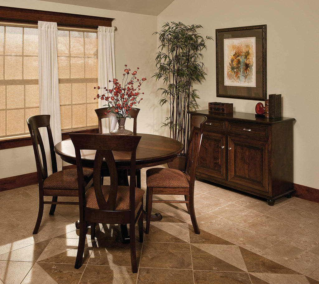 Chancellor Dining Room Collection shown in Brown Maple/Rich Tobacco