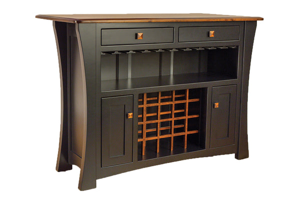 Arts & Crafts Wine Cabinet