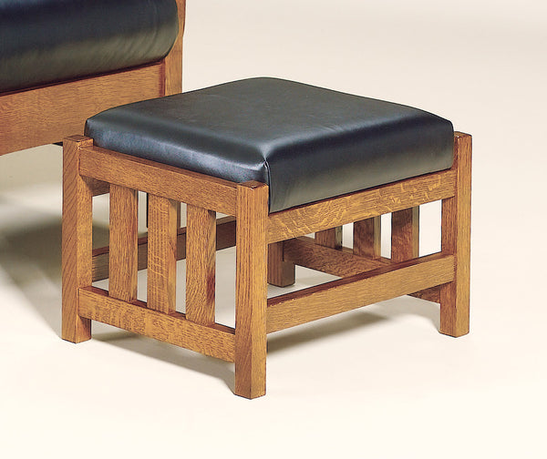 Bow Arm Footstool