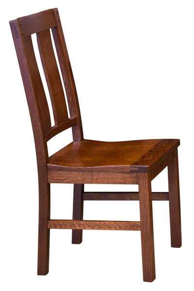 Brunswick chair side view