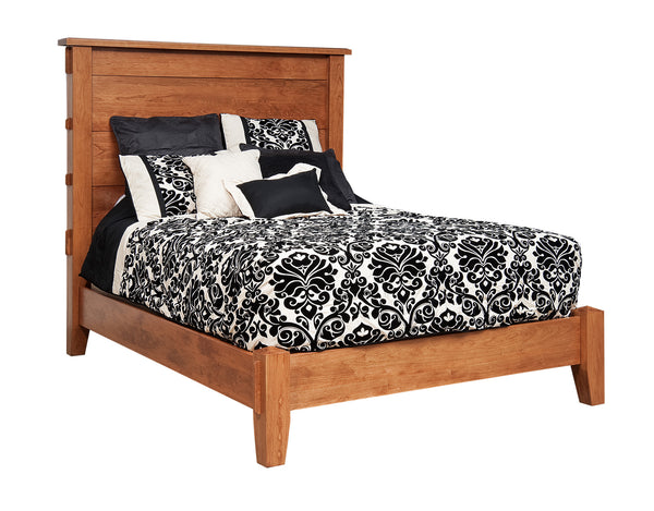 Bungalow bed shown in Cherry/Fruitwood