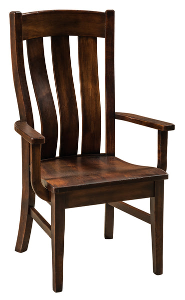 Chesterton Arm Chair shown in brown maple