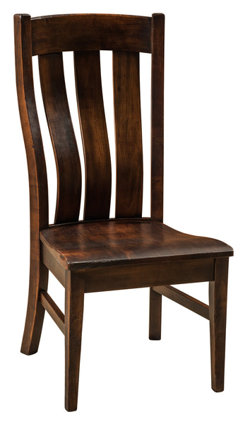 Chesterton Side Chair shown in brown maple