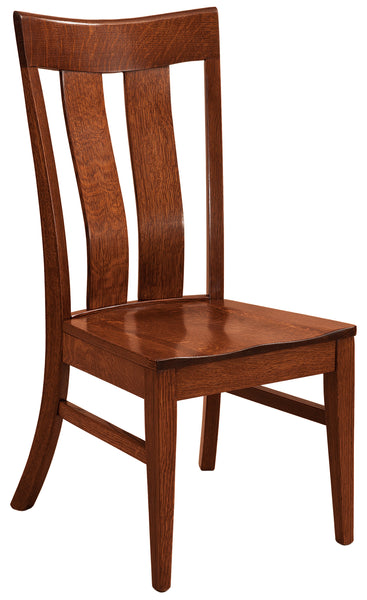 Sherwood armchair shown in 1/4 sawn white oak with a Michaels Cherry finish