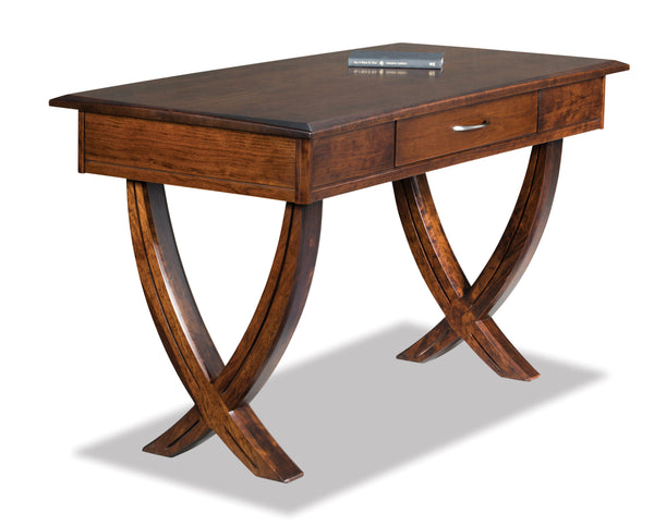 Ventura Writers Desk shown in Cherry with an Asbury finish