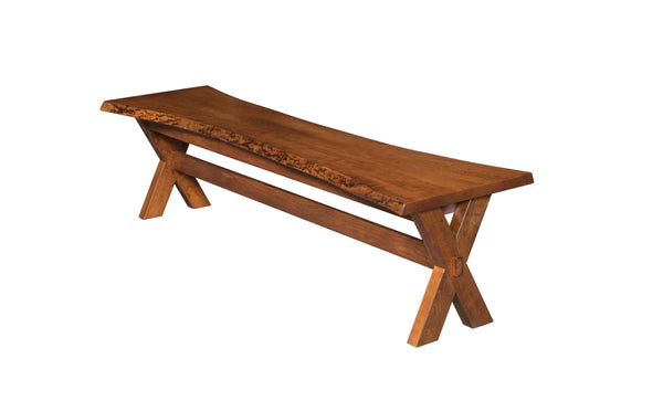 Frontier Live Edge Bench