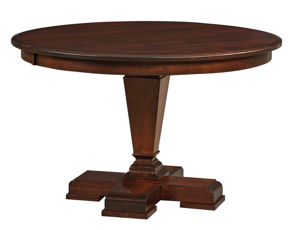 Fulton Round Single Pedestal Table