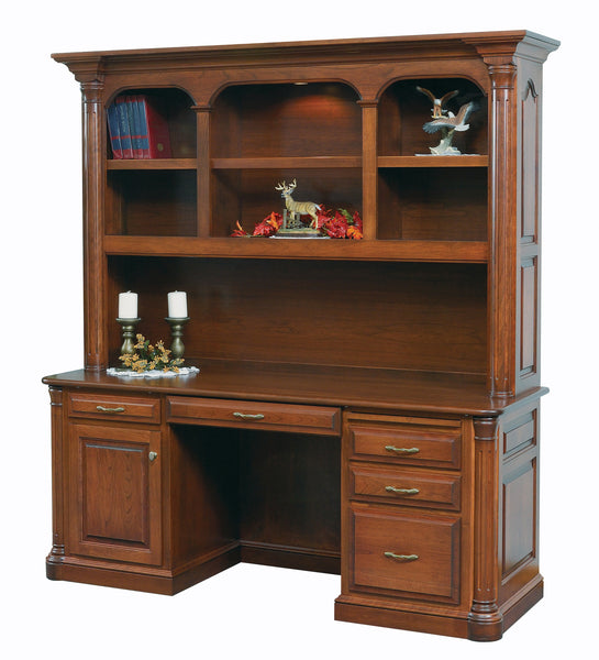 Jefferson Credenza with Hutch