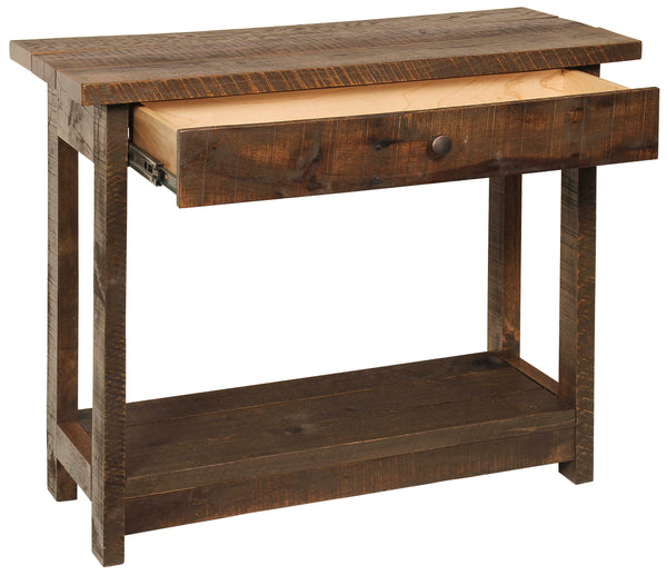 Pallet Hall Table with Drawer P001504