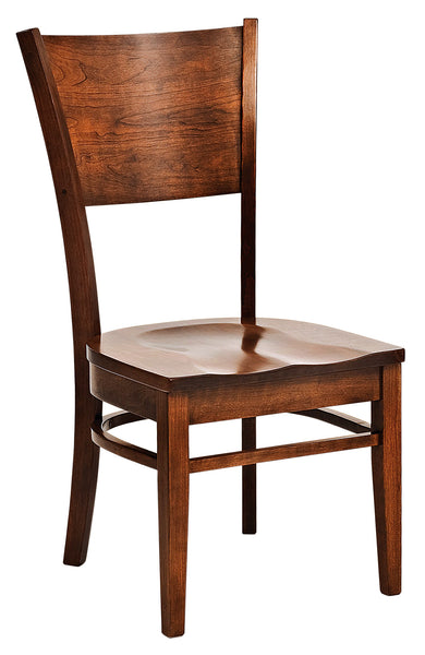 Somerset side chair shown in cherry