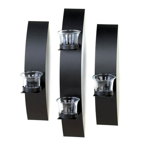wall sconce trio set