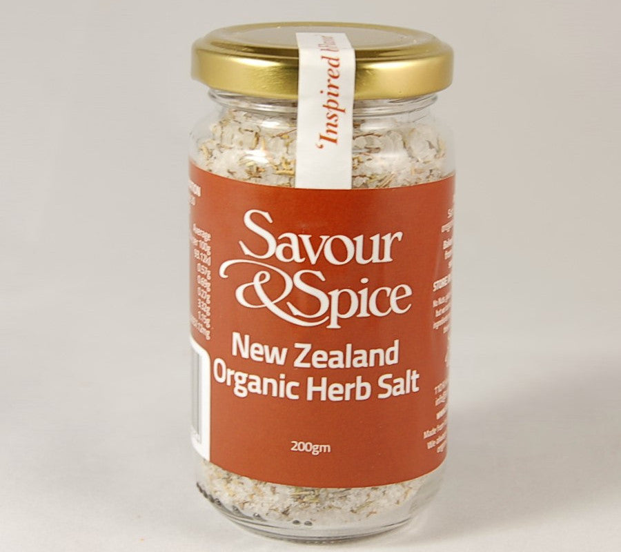 New Zealand Organic Herb Salt
