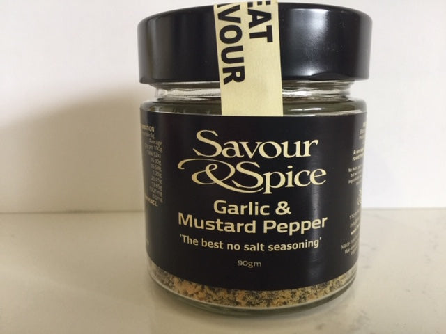 Garlic and Mustard Pepper